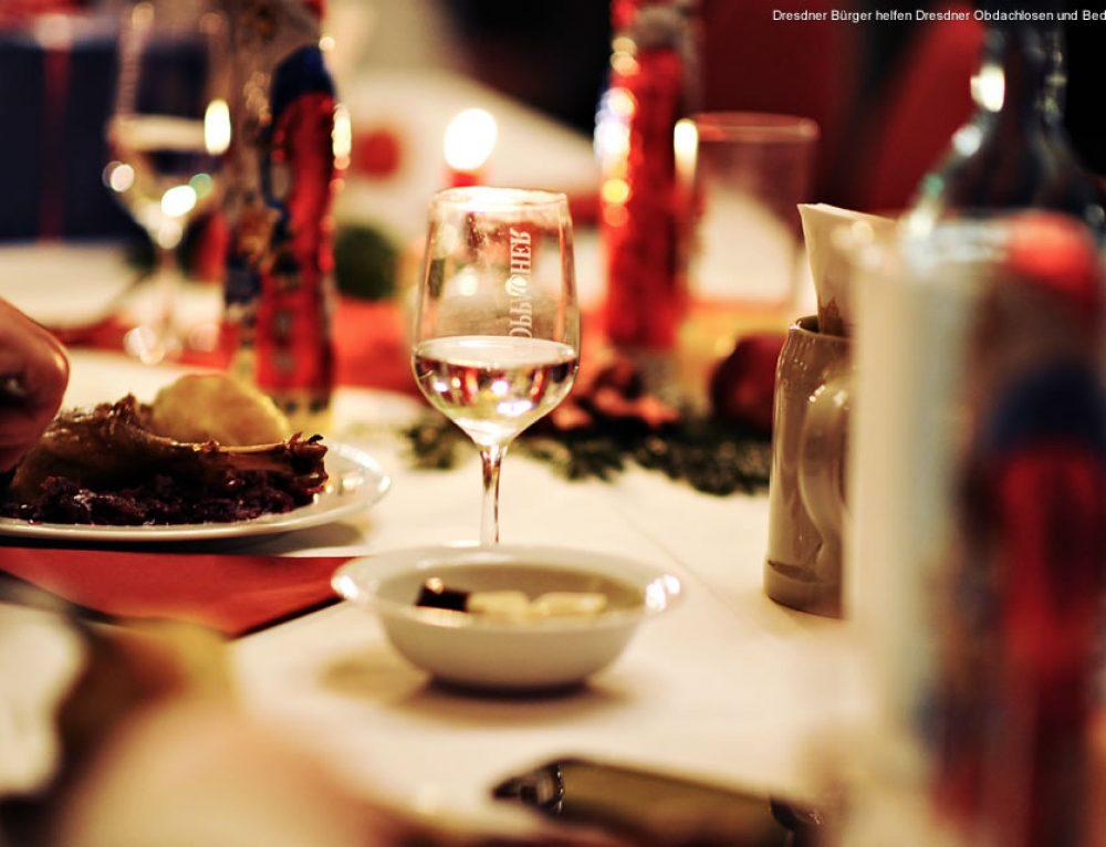 Countdown zum 2. Dresdner Weihnachtsessen für Obdachlose und Bedürftige
