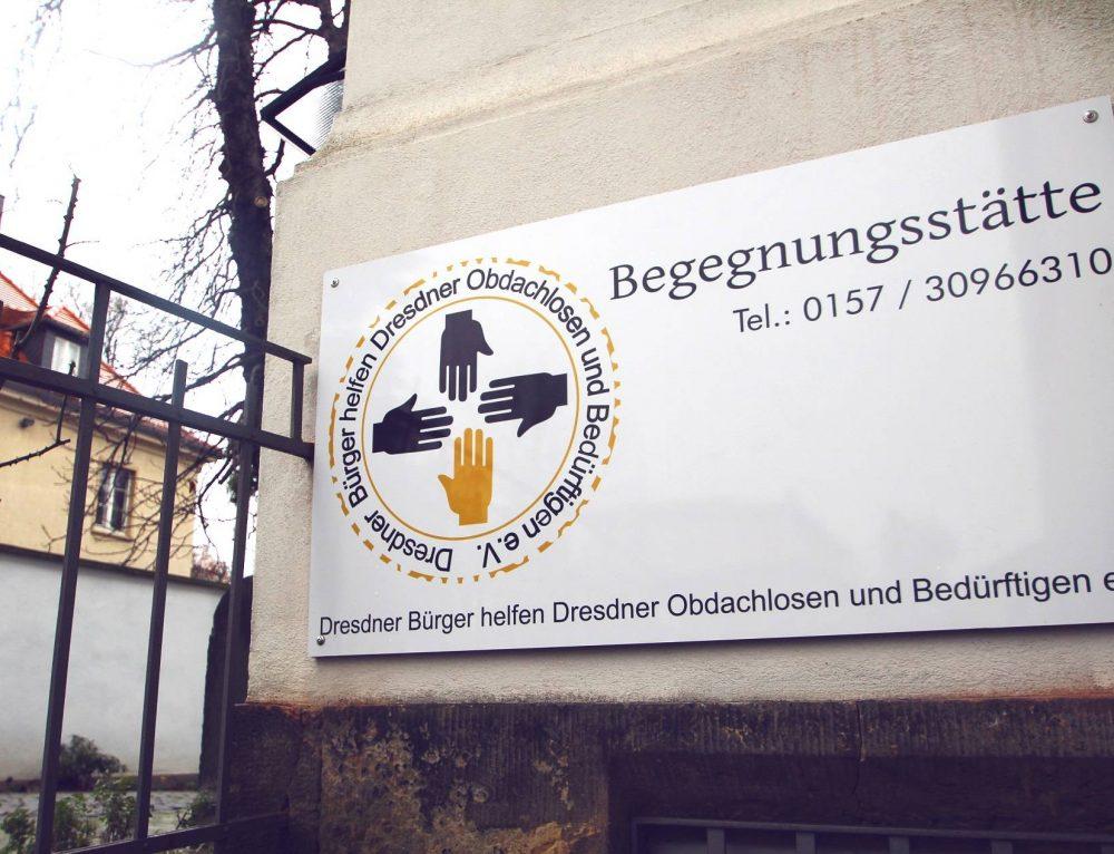 Begegnungsstätte für Obdachlose und Bedürftige in Dresden geöffnet!