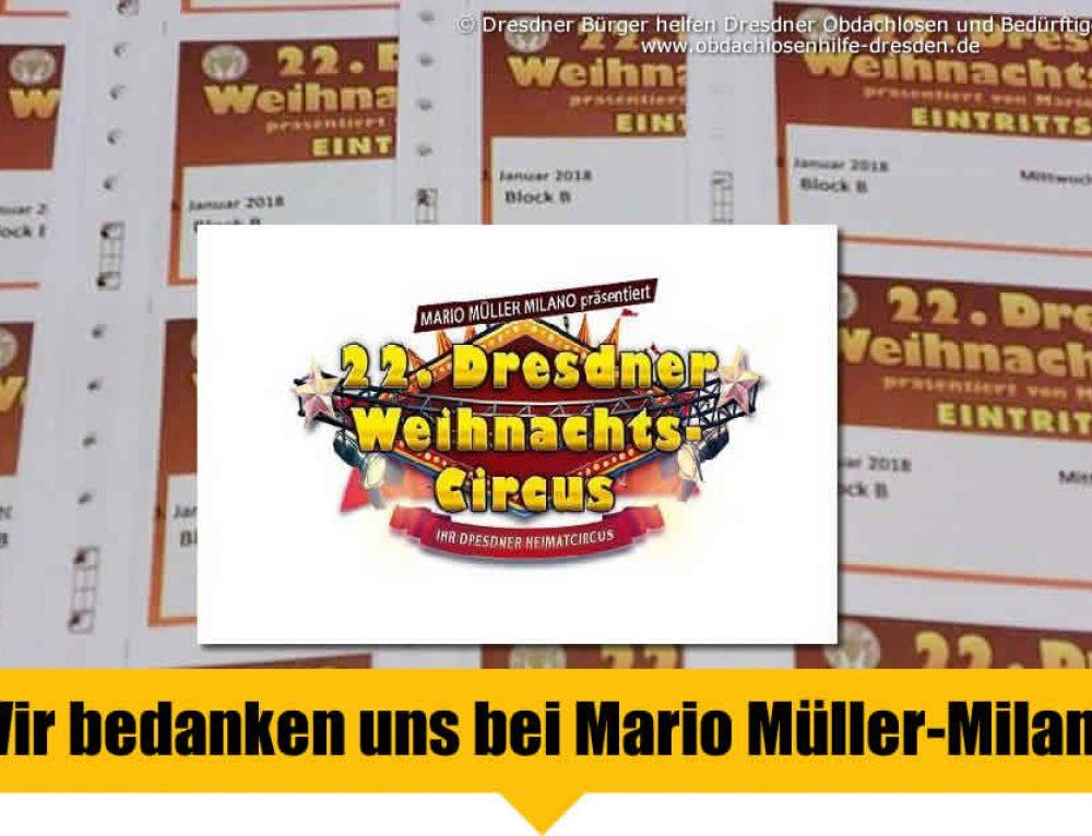 Dresdner Weihnachts-Circus HILFT helfen! Danke