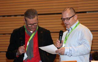 Uwe Riedel und Ingolf Knajder