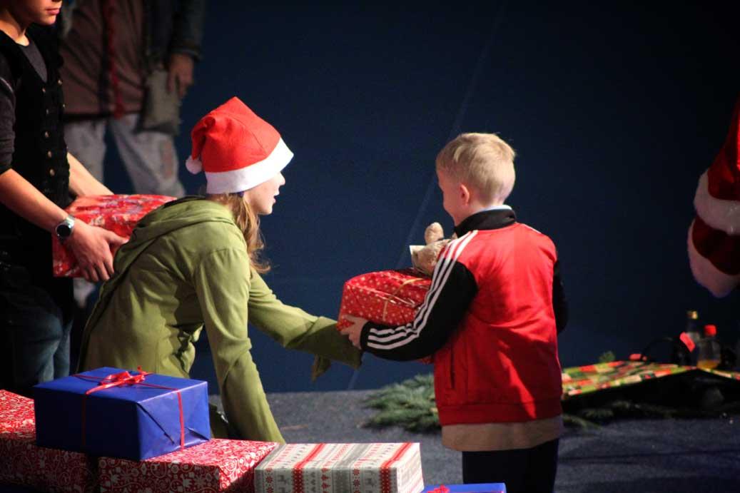 Weihnachtsessen-Geschenke