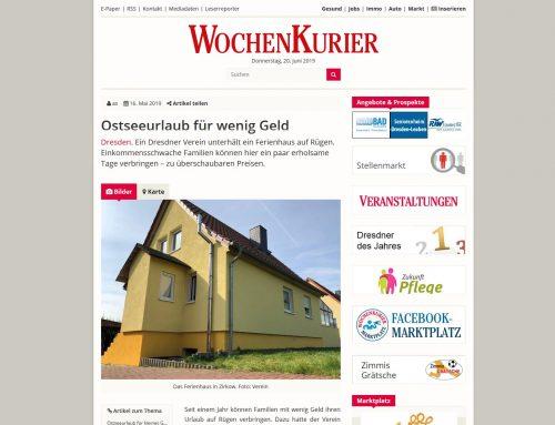 Ferienhaus für bedürftige Familien in Zirkow / Rügen