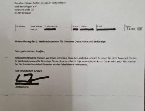 Das kalte Herz der Stadtverwaltung Dresden